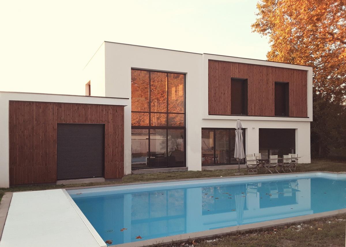 428 maisons contemporaines d 39 architectes page 8 for Appartement josephine bordeaux