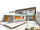 Extension et rénovation énergétique de la maison de ville « LVK »