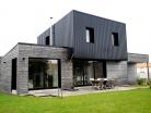 construction d'une maison � Saint-Andr�-de-la-Marche