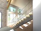 Maison neuve contemporaine bioclimatique