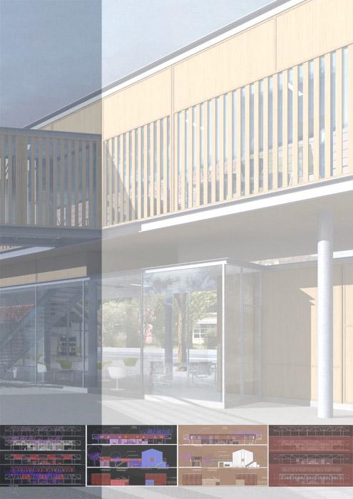 facade et couloir extérieur