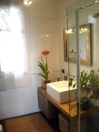 salle de bain avec vasque contemporain