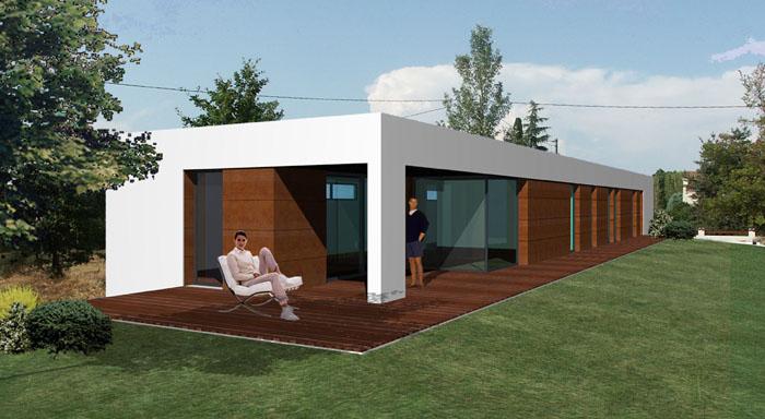 maison biazzotto 31 fronton une r alisation de agence ar quo. Black Bedroom Furniture Sets. Home Design Ideas