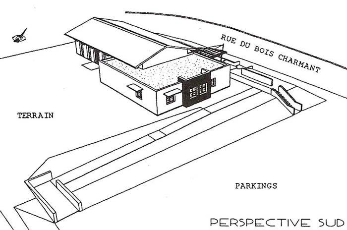 facade, toiture