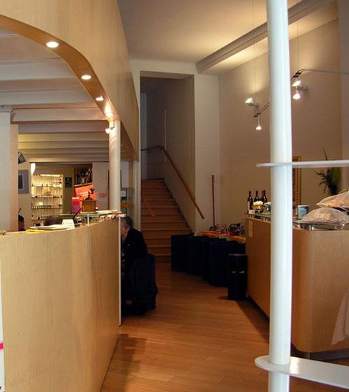Magasin et restaurant divizia torino italie une for Maga meuble besancon