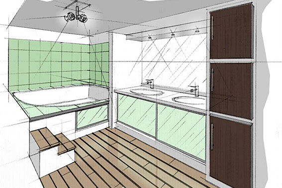 dessiner sa salle de bain en 3d castorama. Black Bedroom Furniture Sets. Home Design Ideas