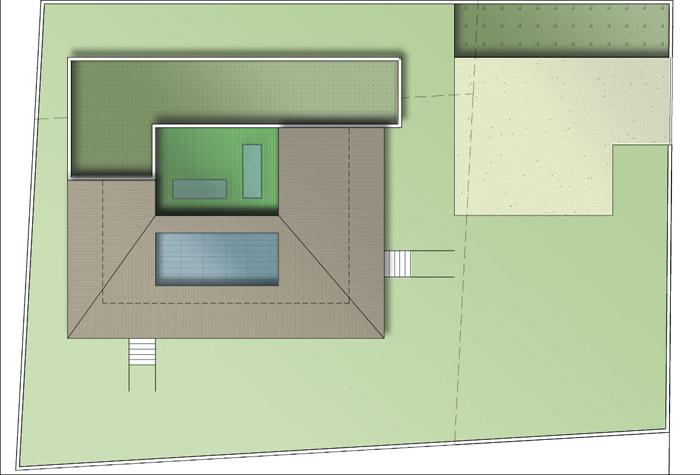 plan masse maison et terrain