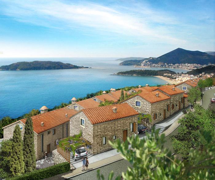 villas avec vue sur la mer