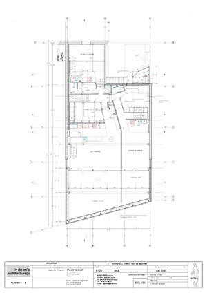 projet entrepôt