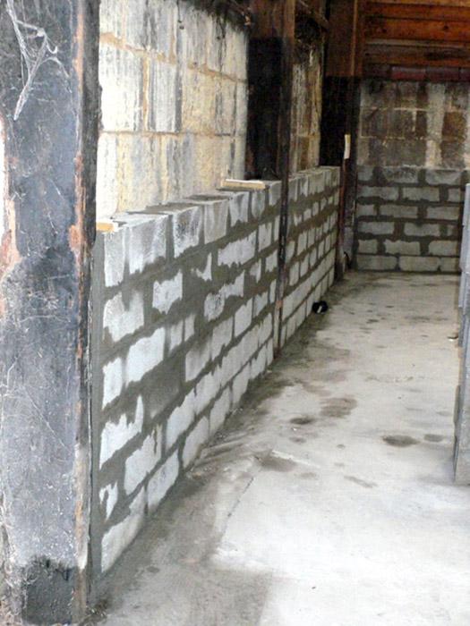 mur entrepôt