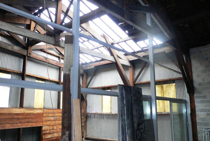 construction intérieure bâtiment