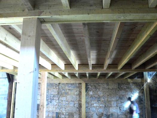 construction intérieure, bâtiment