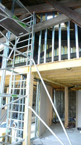 construction intérieur de bâtiment