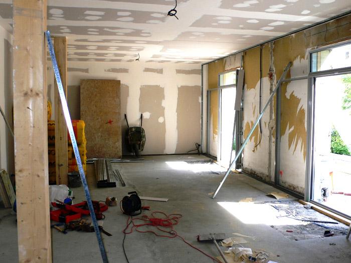 rénovation intérieure de bâtiment