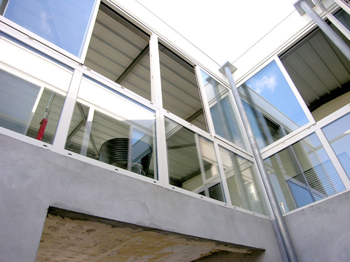 vue baie vitrée