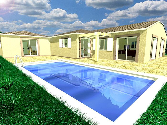 Architectes construction d 39 une maison individuelle dans l - Piscine dans la maison ...