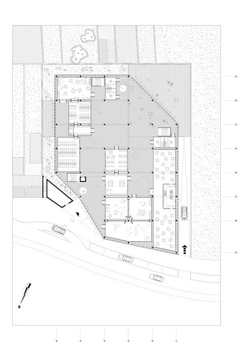 plan d'une école maternelle