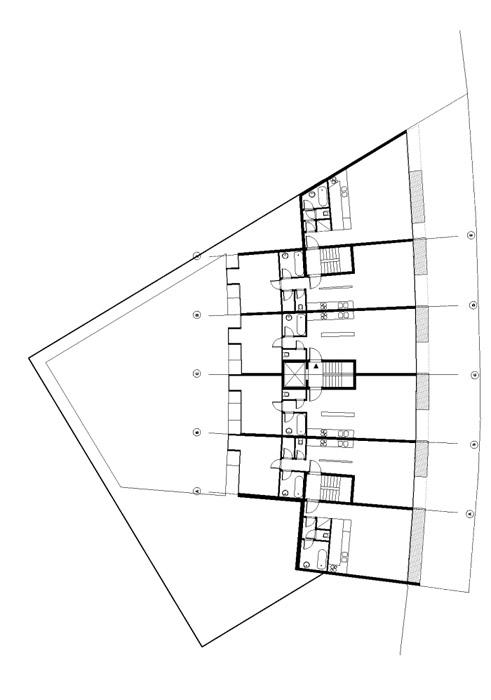 plan d'un loft