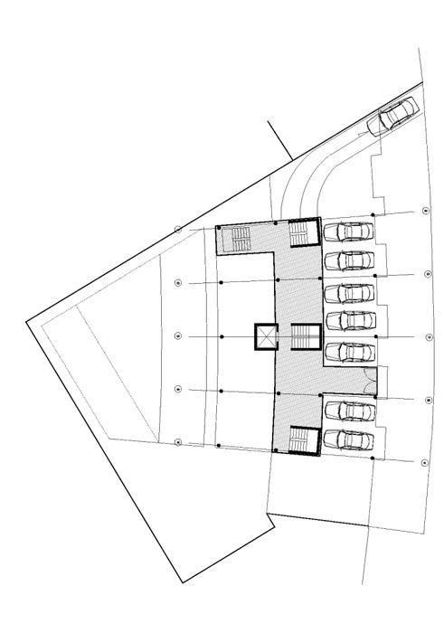 plan d'un loft rdc