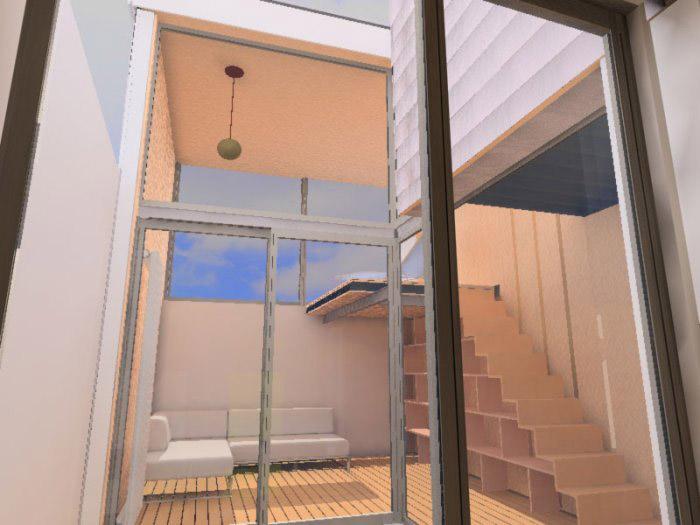intérieur de maison, loft