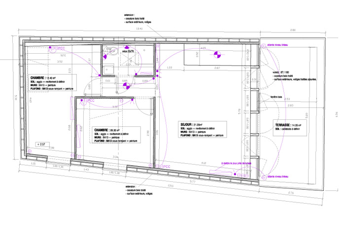 Extension maison vendee devis estimatif 09 ari ge for Extension maison plan