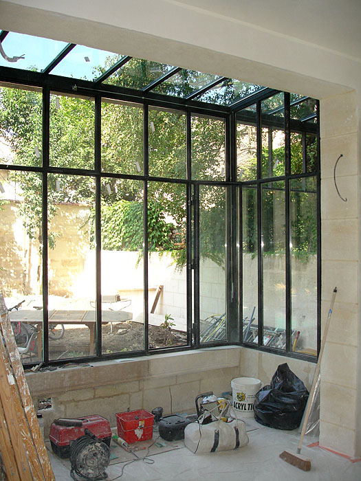 Architectes r habilitation totale d 39 un for Maison avec bow window