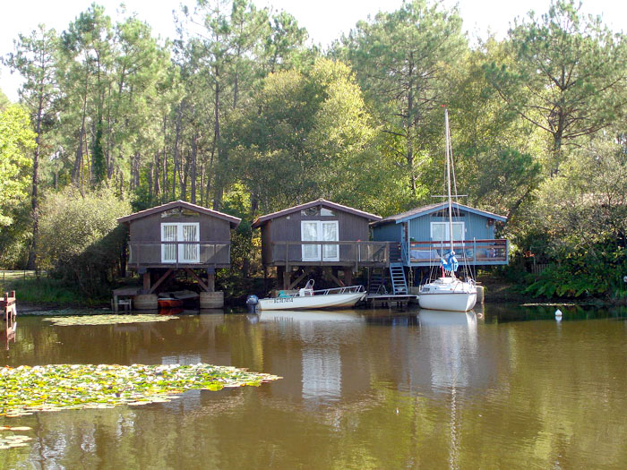 Fabriquer Une Cabane En Bois Sur Pilotis : et agrandissement d'une cabane sur pilotis ? Lacanau (33) – Lacanau