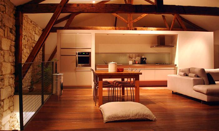 Architectes 01 lofts 2 lofts dans une ancienne carrosserie bordeaux - Idee deco loft ...