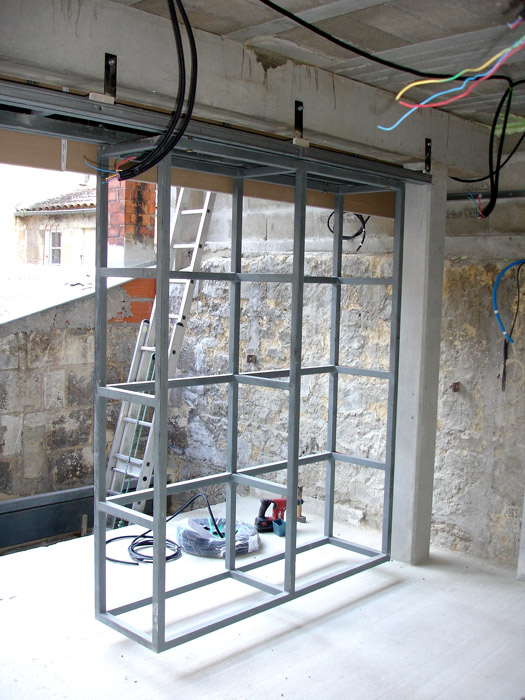 Architectes 01 lofts maison loft bordeaux - Construction d un loft ...