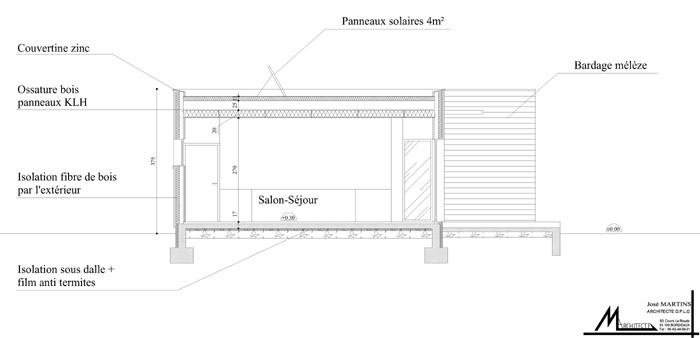 Architectesbordeauxcom  Maison Ecologique à Pessac (33)  Bordeaux