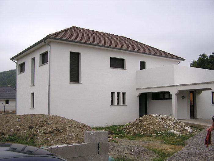 Architectes maison cubique bordeaux for Interieur maison cubique