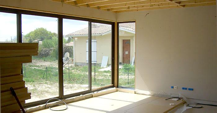 petite maison bois solaire st mariens saint mariens une r alisation de martins architecture. Black Bedroom Furniture Sets. Home Design Ideas