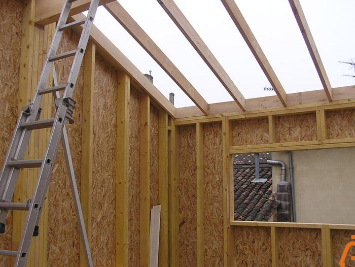 architectes bordeaux 02 ossatures bois construction bois sur 233 l 233 vation partielle d une