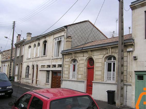 façade d'échoppe