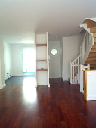 escalier, lambris