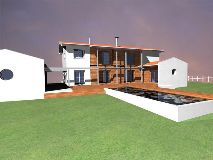 Projet de maison individuelle 33 saint sulpice et for Projet maison individuelle