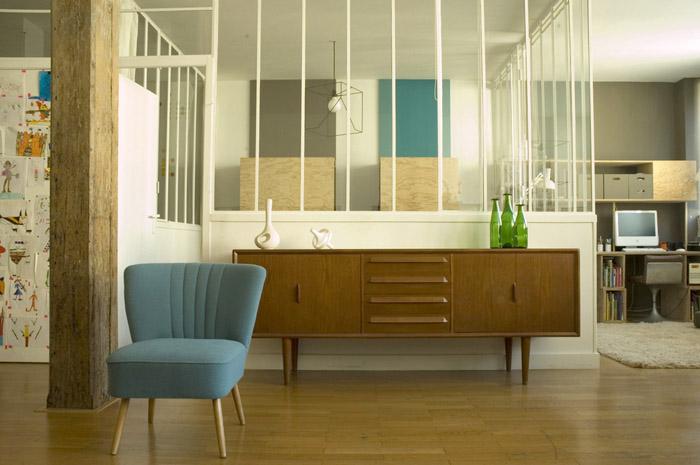 Fenetre atelier artiste loft fenetre monobloc grosfillex - Fenetre style verriere ...
