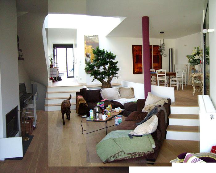 r habilitation et extension d 39 une maison en meuliere colombes 92 colombes une. Black Bedroom Furniture Sets. Home Design Ideas
