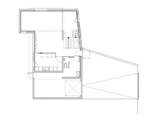 plan de maison contemporaine rez de chaussée